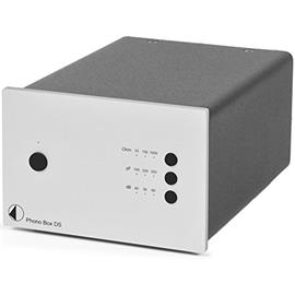 Pro-Ject Phono Box DS - premium phono preamplifier (MM/MC / silver)