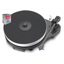 Pro-Ject RPM 5.1 Superpack - record player + Ortofon 2M Blue + Speed Box (record player in piano lacquer anthracite/grey)