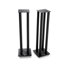 Atacama SL1000i - loudspeaker stands (1000 mm / black / incl. large top plates for bigger loudspeakers / four support columns per stand / 1 pair) - RRP = 239,90 Euro