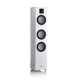 GAUDER AKUSTIK CASSIANO MK II - 3-way floorstanding loudspeaker (white / diamond tweeter / price = PRICE PER UNIT)