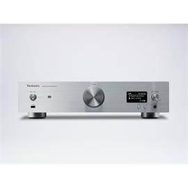 Technics SU-R1 - network audio control player - reference audio preamplifier (separated analog/digital power supply / high quality analog in- and outputs / metal double chassis in silver)