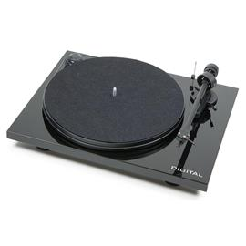 Pro-Ject Essential II Digital - record player incl. tonearm + Ortofon cartridge OM 5E (piano black)