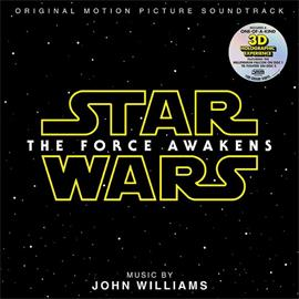Pro-Ject Star Wars - The Force Awakens - Motion Picture Soundtrack with music by John Williams - Double-LP (2 x 180 gram 3D hologram vinyl / gatefold LP / new & sealed)