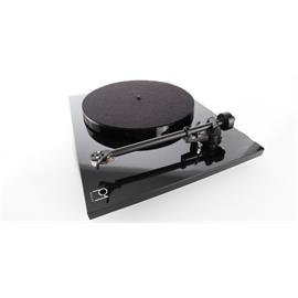 Rega Planar 1 - record player with Rega RB110 tonearm and Rega CARBON MM cartridge (high-gloss black / 2016 version)
