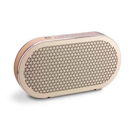 "DALI KATCH - battery powered Bluetooth loudspeaker (in ""Cloud Gray"" = beige / 2x 25 W / 2600 mAh internal battery with ca. 24 hours of untethered playback / Bluetooth 4.0 aptX)"