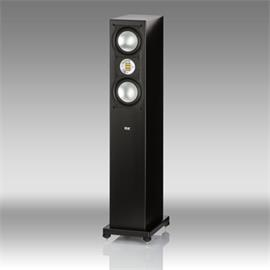 Elac AIR-X 207 - 3-way floorstanding loudspeaker ACTIVE (max. 320 Watts / high-gloss black)