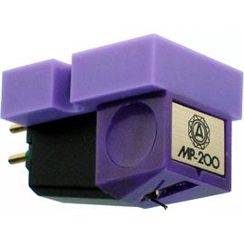 Nagaoka MP-200 - MI cartridge system for turntables (elliptical stylus tip / Moving Iron technology)