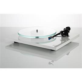 Rega Planar 3 - record player with Rega RB330 tonearm and Rega ELYS-2 MM cartridge (high-gloss white / 2016 version)