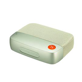 Acoustic Research AR-Flash 1.0 - portable mini Bluetooth loudspeaker (Bluetooth wireless connection / audio codec = Qualcomm aptX / 10 Watts - 2 x 5 W RMS / in white finish)