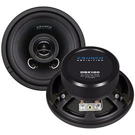 CRUNCH DSX120 - 2-Way coaxial loudspeakers (160 Watts / 1 pair)