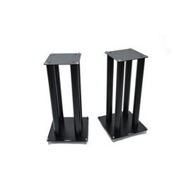 Atacama SLX600 - loudspeaker stands (645 mm / black / incl. large top plates for bigger loudspeakers / four support columns per stand / 1 pair)