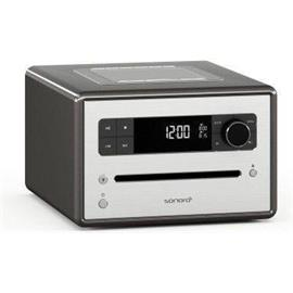 Sonoro sonoroCD 2 - stereo music system (CD / FM/DAB/DAB+ digital radio / Bluetooth / graphite)