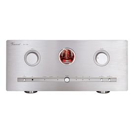 Vincent SV-700 - hybrid stereo integrated amplifier (2 x 100 Watts RMS to 8 Ohm / 2 x 160 Watts RMS to 4 Ohm / incl. remote control / silver)