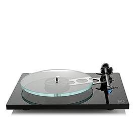 Rega Planar 3 - record player with Rega RB330 tonearm and Rega EXACT MM cartridge (high-gloss black / 2016 version)