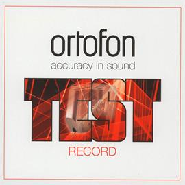 Ortofon Stereo Test Record Vinyl LP (15 Tracks)