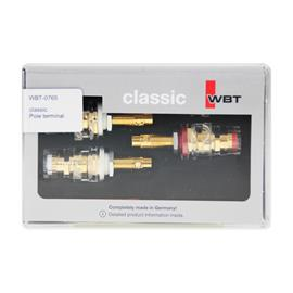 WBT - 0765 classic - pole terminals (4 pieces)