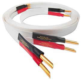 Nordost White Lightning - loudspeaker cable (banana plugs / 2 x 2.0 m / white)