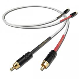 Nordost White Lightning Analog Interconnect - RCA audio cable (RCA to RCA / 0.6 m / white)