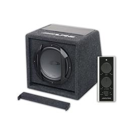 ALPINE SWE-815 - active subwoofer (20 cm / 300 Watts / black)