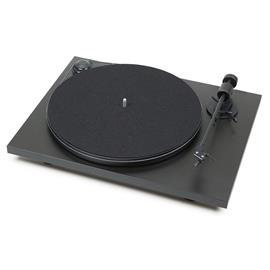 "Pro-Ject Primary - record player incl. tonearm + Ortofon OM 5E MM cartridge (matt black / with straight 8,6"" tonearm / incl. dust cover / plug & play)"