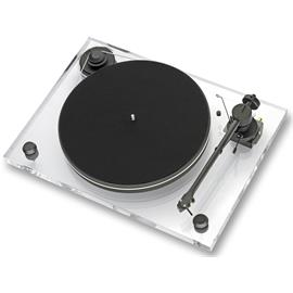 Pro-Ject 2-Xperience Basic + - record player incl. tonearm + Ortofon MM cartridge 2M Bronze + phono cable (acrylic)