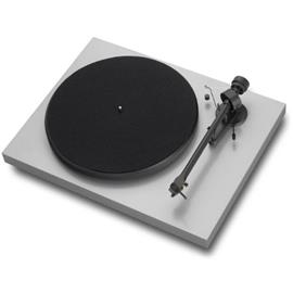 Pro-Ject Debut III - record player incl. tonearm + Ortofon MM cartidge OM 5E (silver / incl. dust cover)