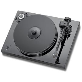 Pro-Ject 2-Xperience SB SuperPack - record player incl. tonearm + Ortofon MM cartridge 2M Bronze + speedbox (black / electronic speed control / tonearm cable / dust cover)