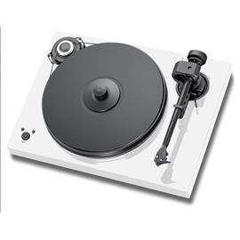 Pro-Ject 2-Xperience SB SuperPack - record player incl. tonearm + Ortofon MM cartridge 2M Bronze + speedbox (white / electronic speed control / tonearm cable / dust cover)