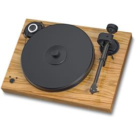 Pro-Ject 2-Xperience SB SuperPack - record player incl. tonearm + Ortofon MM cartridge 2M Bronze + speedbox (olive / electronic speed control / tonearm cable / dust cover)