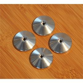 Quadraspire QC SS - spike base (stainless steel / high quality washers / diameter approx. 2.4 cm / set of four)