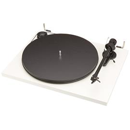 Pro-Ject Essential II - record player incl. tonearm + Ortofon OM 5E (white / incl. dust cover)