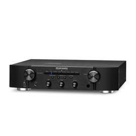MARANTZ PM6006 - integrated amplifier (2 x 55 Watts RMS / incl. D/A converter CS4398 of reference class / incl. remote control RC003PMCD / HDAM version SA3 and SA2 / black housing)