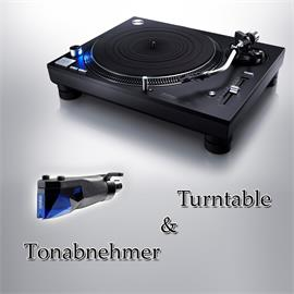 Technics + Ortofon PACKAGE OFFER: TECHNICS - Grand Class SL-1210GR - record player (black) + ORTOFON - 2M Blue PnP - MM cartridge