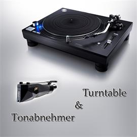 Technics + Ortofon PACKAGE OFFER: TECHNICS - Grand Class SL-1210GR - record player (black) + ORTOFON - 2M Black PnP - MM cartridge