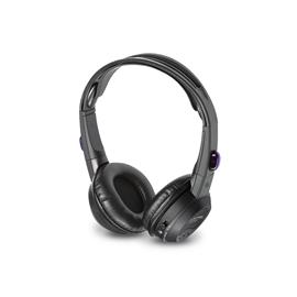 ALPINE SHS-N207 - 2-channel infrared headphones (incl. built-in volume dial, power switch and LED indicator / fold-flat technology / black)