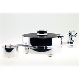 Transrotor FAT BOB S TMD - High-End Plattenspieler + Benz Micro - MC Gold - MC-Tonabnehmer (inkl. Transrotor - TR800-S - Tonarm / silber) Sonderpreis - UVP = 4.075,- Euro