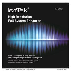 IsoTek High Resolution Full System Enhancer - burn-in CD (4 tracks / designed fo fully burn-in and demagnetise your entire audio system / second edition)