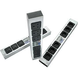 IsoTek EVO 3 Polaris - Mehrfach-Steckdosenleiste (zur perfekten Ergänzung für jedes HiFi- oder AV-System / 2300 Watt maximale Leistungsaufnahme / schwarz/silber / 1 Stück)