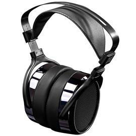 HiFiMAN HE400i - open magnetostatic headphones (high end premium stereo headphones / incl. interchangeable connection cables / black) - RRP = 579,- Euro