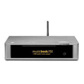 Lindemann Audio musicbook:15 DSD - USB audio music player with CD + DAC + preamplifier (silver aluminum) - RRP = 3.780,- Euro