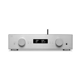 AVM A30 - power amplifier (Class A / 2 x 125 Watts / Bluetooth / incl. RC 3 remote control / 30 years AVM anniversary model / silver)