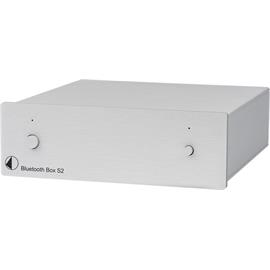 Pro-Ject Bluetooth Box S2 - audiophile Bluetooth audio receiver with aptX (supports aptX & SBC Bluetooth codec / silver)