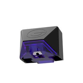 GOLDRING E3 Violet - MM-Tonabnehmersystem für Plattenspieler (Nadelträger aus Aluminium mit super-elliptischer Nadel / für mittlere bis schwere Tonarme / MM / violett)