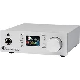 Pro-Ject Pre Box S2 Digital - audiophile digital micro preamplifier (with MQA + DSD512 + roon support / RCA pre-output on the back / white)