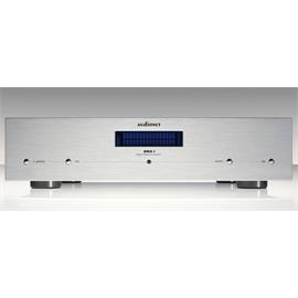 Audionet DNA I - digital-analog amplifier (blue display / incl. Audionet metal remote control RC2 / device in silver)