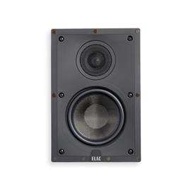 Elac IW-D61-W - in-wall loudspeaker (part of Elac Debut series / suitable for in-wall installation / for home theater use / 16.5 cm / black / 1 piece)