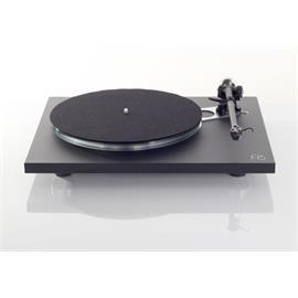 Rega Planar 6 - record player with RB330 tonearm + Ania - MC cartridge (matt black / + external power supply / incl. dust cover)