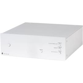 Pro-Ject Phono Box DS2 - Phono preamplifier (MM/MC / can be used as standard phono preamplifier / silver)