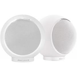 Elipson Planet M - bookshelf loudspeakers (2 way / 30-80 W / 1 pair / glossy white)