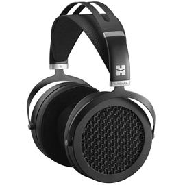 HiFiMAN SUNDARA - open magnetostatic headphones (high end premium headphones / incl. interchangeable connection cables / black)